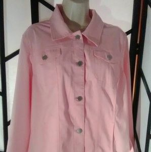 Croft & Barrow Pale Pink Jacket